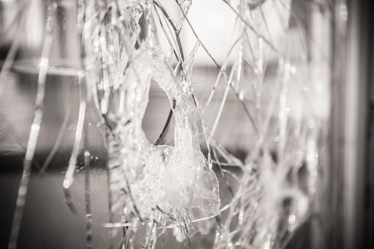 Zerbrochenes Fenster